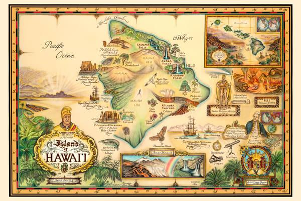 Blaise Domino | Hawaii Historical Map
