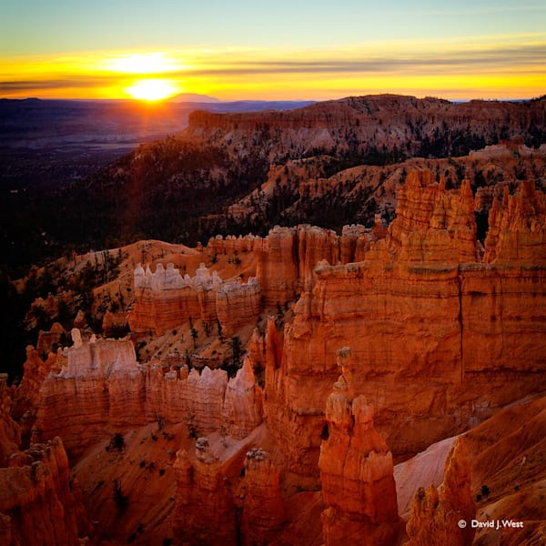 Bryce Canyon Dawn Square