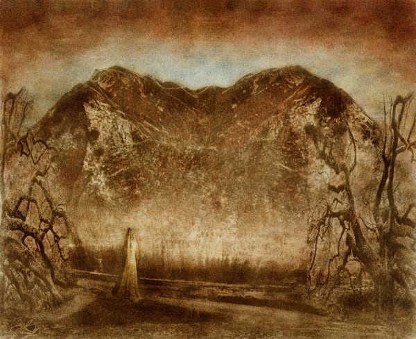 The Unrevealed Path   Original Art | Frantisek Strouhal Fine Art
