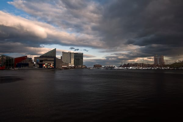 Fine Art Photograph of Baltimore Inner Harbor by Michael Pucciarelli