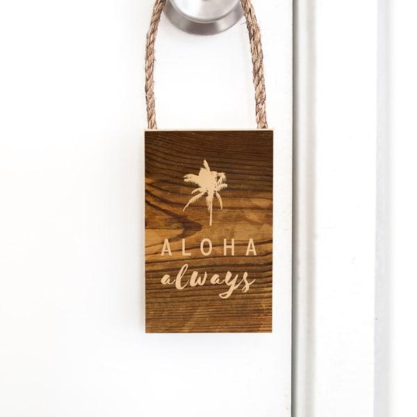 Door Hangers | Aloha Always
