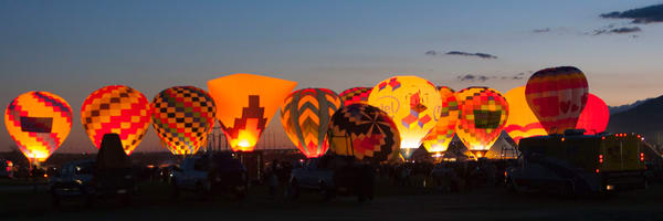 Dawn Patrol at the Albuquerque Balloon Fiesta