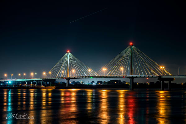 Clark Bridge at Night