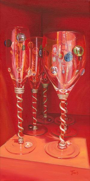 """""""Reflections In Red"""" Art   Terri Davis Gallery"""
