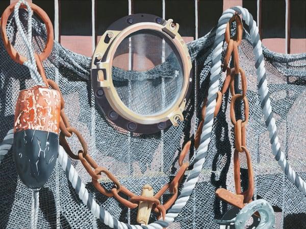 """Fishnet"" Art   Terri Davis Gallery"