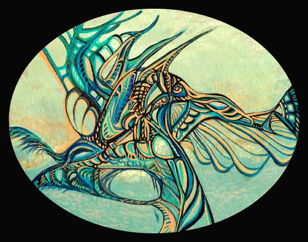 Surrealistic Reflections - Haida Sky