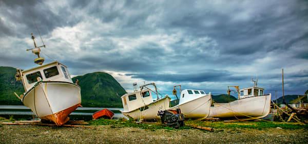 Newfoundland Fishing Boats