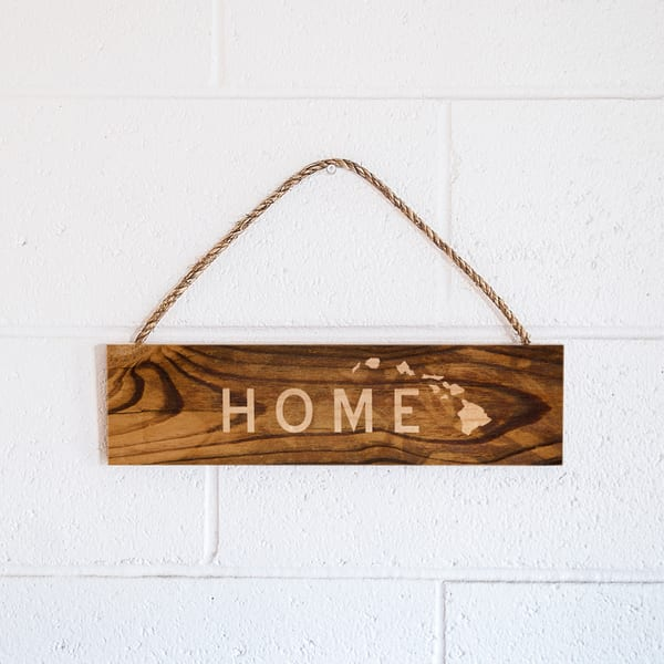 Rope Sign | Home