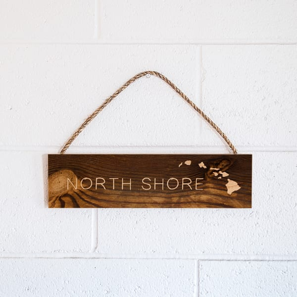 Rope Sign | North Shore
