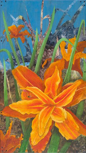 Orange Day Lily #2