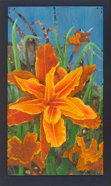Orange Day Lily #1 - Original