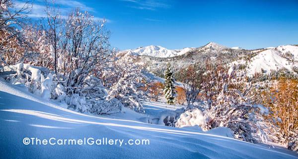 Blue Morning Tahoe Donner Art | The Carmel Gallery