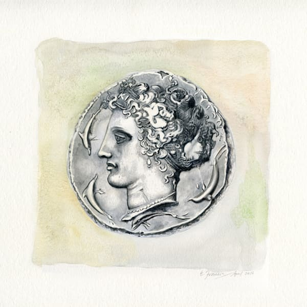 Ancient Coin V by Ernie Francis | SavvyArt Market art print