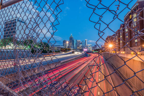 City shot [Atlanta] | Susan J Photography: Shop Prints
