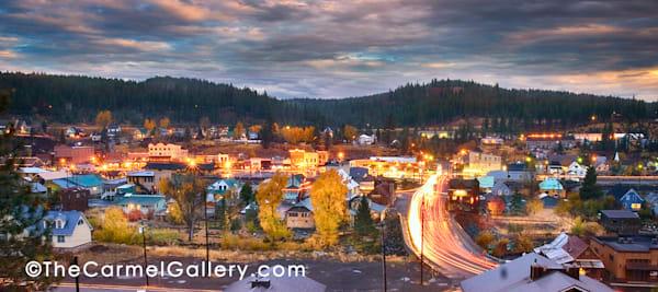 """Autumn Dawn Truckee"" | Truckee fine art photography prints by Olof Carmel, The Carmel Gallery"