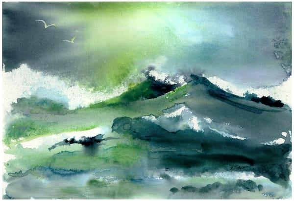 Eerie Ocean