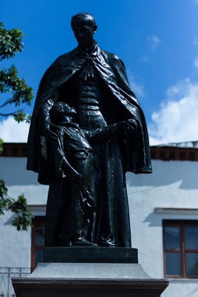 Fine Art Photograph of a Military Statue in Santo Domingo by Michael Pucciarelli