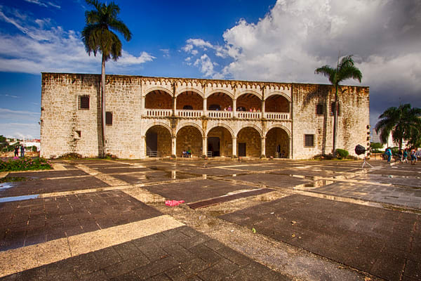 Fine Art Photograph of Central Santo Domingo by Michael Pucciarelli