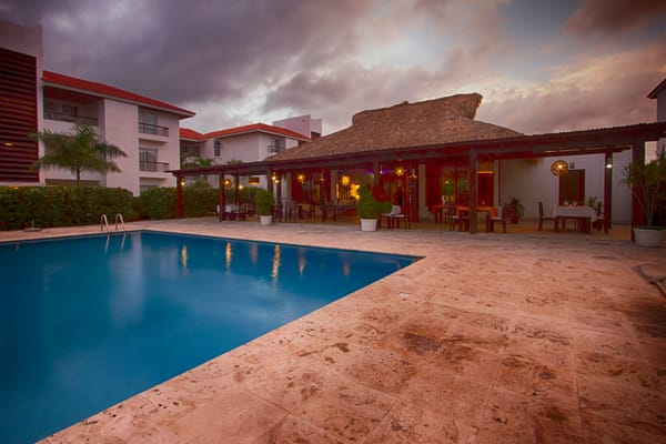 Fine Art Photograph of Hotel Karibe in Punta Cana by Michael Pucciarelli