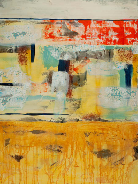 Seeing the Bright Side contemporary abstract painting.
