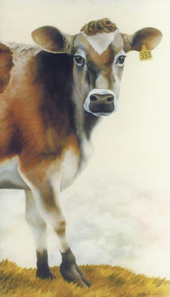 Holy Cow - wood print