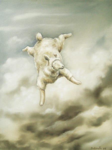 On Cloud Nine - wood print