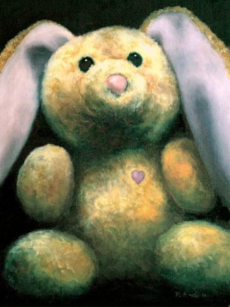 Rescued Rabbit - wood print