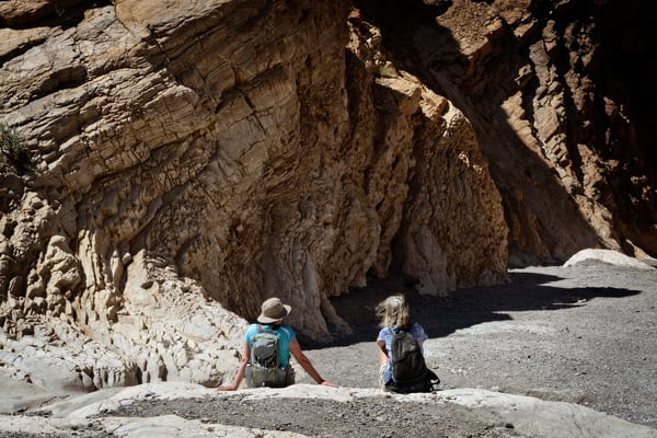 Beautiful Fine Art Paintings and Photographs by Vivian Lo – Picture of Monsaic Canyon in Death Valley.  Originals and Prints for sale - VLo Photo
