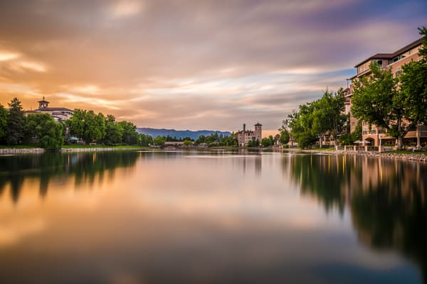 Photography Prints of The Broadmoor Hotel at Golden Hour - Colorado Springs
