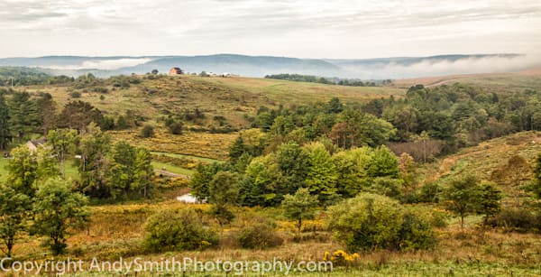 fine art photograph of the view from Winslow Hill