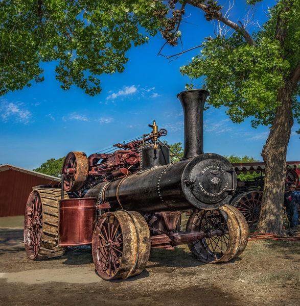 Reeves Steam Powered Farm Tractor |Wall Decor fleblanc