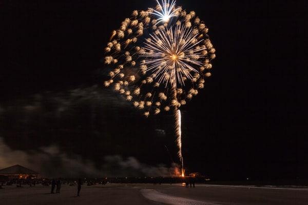Tybee Island Fireworks