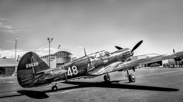War hawk Flying Tiger P-40 Tomahawk Restored Military fleblanc