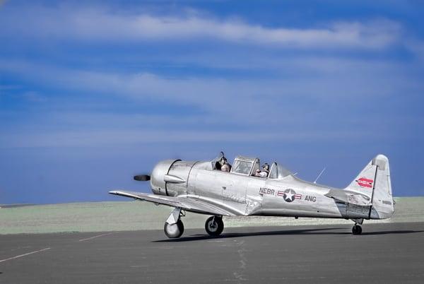 Texan AT-6/T-6 Trainer WW2 Takeoff|Wall Decor fleblanc