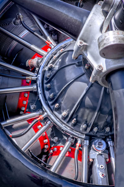 War-bird Texan AT-6/T-6 Trainer Engine|Wall Decor fleblanc