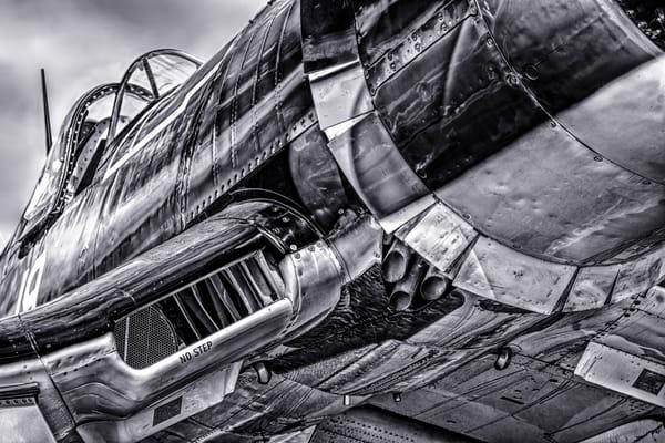 Chance Vought F4U Corsair Detail WW2 Restored Military fleblanc