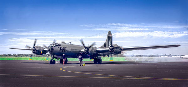 FIFI Boeing B-29 Superfortress CAF Combat Restored fleblanc