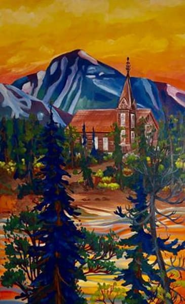 Bennet Church | Original Oil Painting | Emma Barr Fine Art