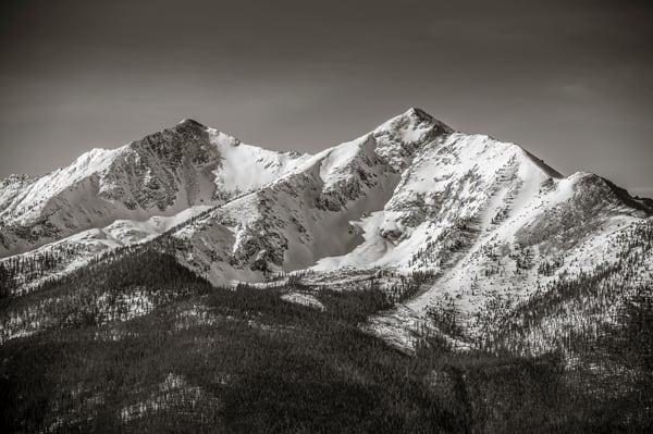 Photo of Peak 10 & Crystal Peak Summit County, Colorado