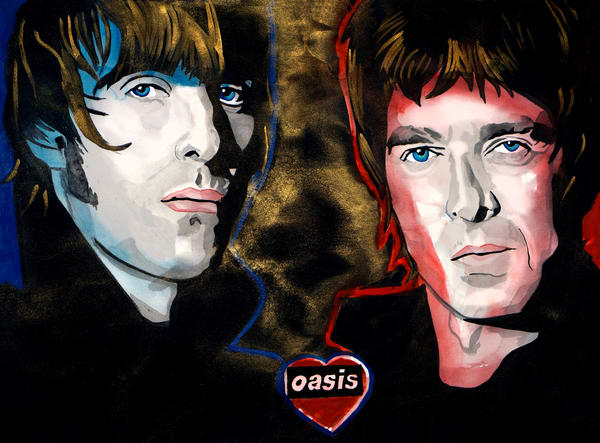 OASIS - THE GALLAGHER BROTHERS