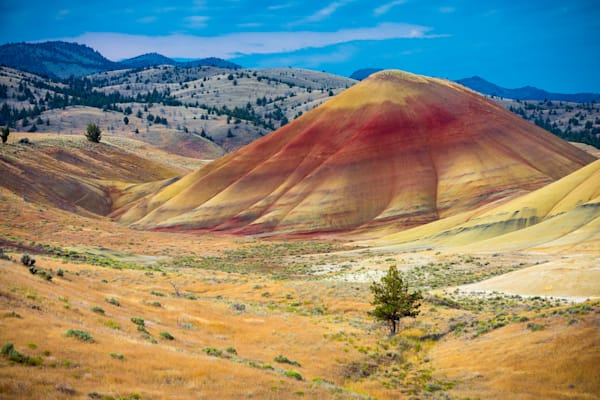 Painted Hills, Eastern Oregon.