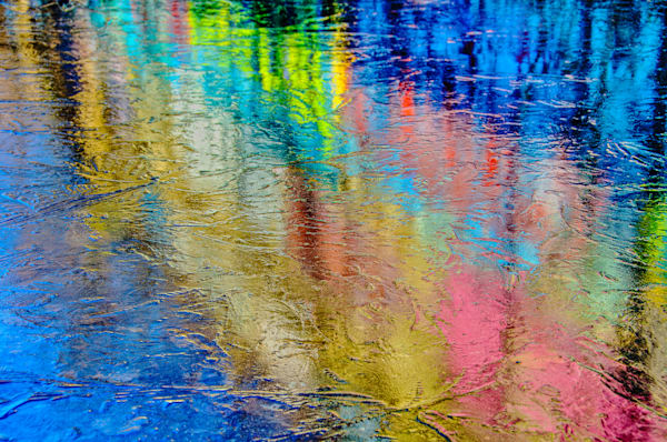 Graffiti Reflection Fine Art Photograph | JustBob Images