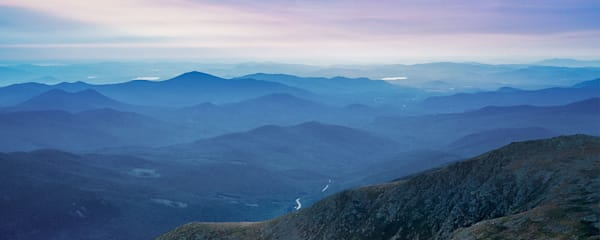 Peter Wnek captures an afternoon view of the Presidential Range on top of Mount Washington in New Hampshire.