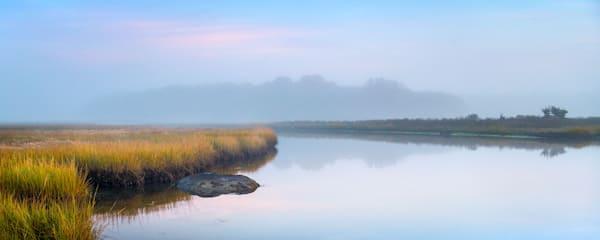 Peaceful morning at Barn Island Preserve in Stonington CT
