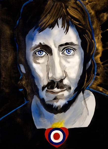 Pete Townshend Art | William K. Stidham - heART Art