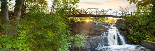 Sunrise at Mill Pond Falls