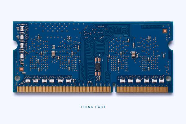 MacMini Memory Module Think Fast Photograph Daniel Sussman