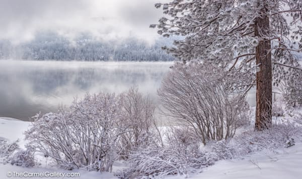 Winter's Breath, Donner Lake Art | The Carmel Gallery