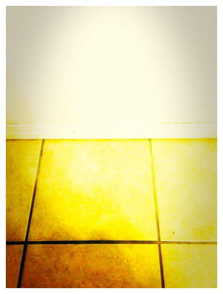 floor, tile, postmodern, photograph, yellow
