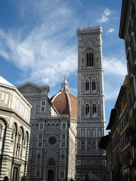 italy florence cathedral duomo campanile